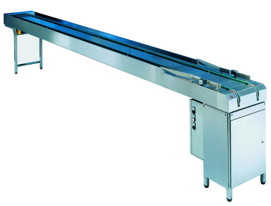 Cord tray conveyor straight section