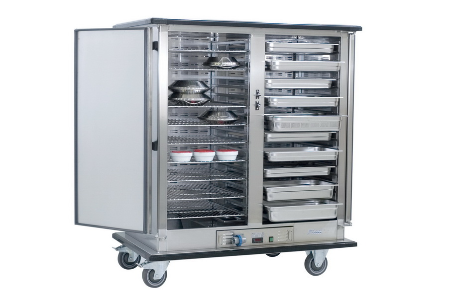 Heated banqueting trolley TVC-GN 22-36