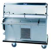 Hostess trolley for hot and cold food gt-reg1