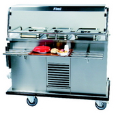 Hostess trolley for hot and cold food gt-reg3