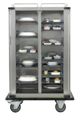 tray system for meals distribution